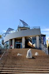 平塚湘南平のレストハウス展望台