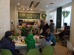 湘南江の島アイランドスパ湘南バーガーの店内