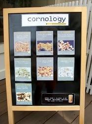 ポップコーンのコーノロジー(cornology)@藤沢江ノ島片瀬海岸のメニュー