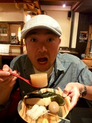 藤沢駅南口橘商店街のおでん居酒屋たむらのおでん