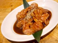 藤沢の韓国焼き肉料理湘南肉豚屋のハラミ