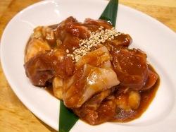 藤沢の韓国焼き肉料理湘南肉豚屋のホルモンミックス