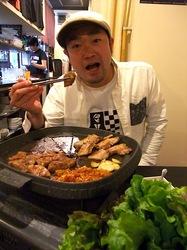 藤沢の韓国料理豚まるのサムギョプサル