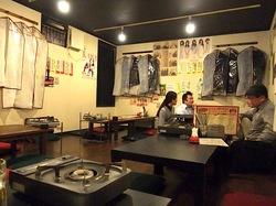 藤沢の韓国料理豚まるの店内お座敷