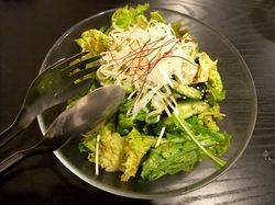 藤沢の韓国料理豚まるのチョレギサラダ