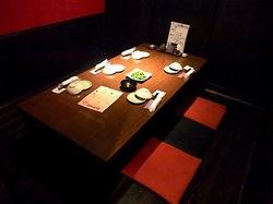 藤沢駅南口の個室居酒屋火蔵(ぽっくら)の個室