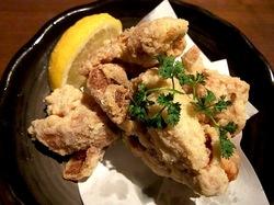 藤沢駅南口の個室居酒屋火蔵(ぽっくら)の若鶏の竜田揚げ
