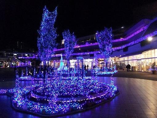 藤沢市辻堂テラスモール湘南イルミネーションイベントTerrace Mall 湘南 Xmas Illumination 2014