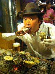 大船かき小屋○座の牡蠣バーベキュー