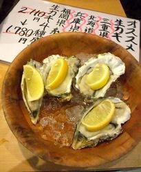 大船かき小屋○座の生牡蠣