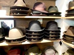 鎌倉小町通りの帽子専門店鎌倉帽子屋のボルサリーノ