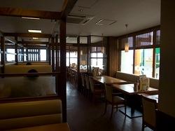 海が見えるCOCO'S(ココス) 江ノ島店@腰越の店内