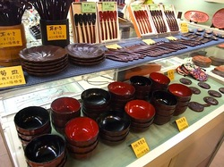 陽雅堂@鎌倉:お土産に鎌倉彫の椀や箸
