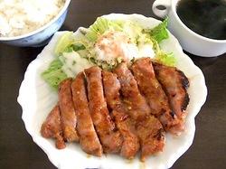 楽縁@鎌倉小町通りの湘南豚の味噌漬け定食