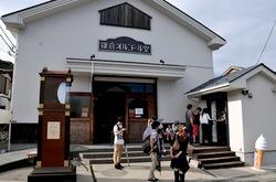 鎌倉長谷寺で鎌倉オルゴール堂併設の北海道生キャラメルソフトクリーム