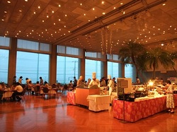 鎌倉プリンスホテルバンケットホールでシーサイドサマーブッフェ