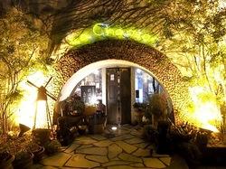 鎌倉のイタリアンレストラン「カチュッコ」の入口