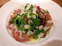 鎌倉のイタリアンレストラン「カチュッコ」のサラミと冷菜