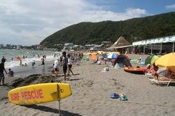 湘南・鎌倉の海水浴場:一色海水浴場