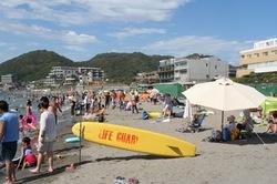 湘南・鎌倉の海水浴場:森戸海岸海水浴場