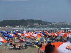 湘南・鎌倉の海水浴場:由比ケ浜海水浴場
