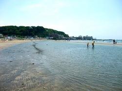 鎌倉の由比ガ浜海水浴場