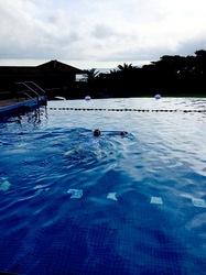湘南から沖縄八重山旅行小浜島はいむるぶしのプール