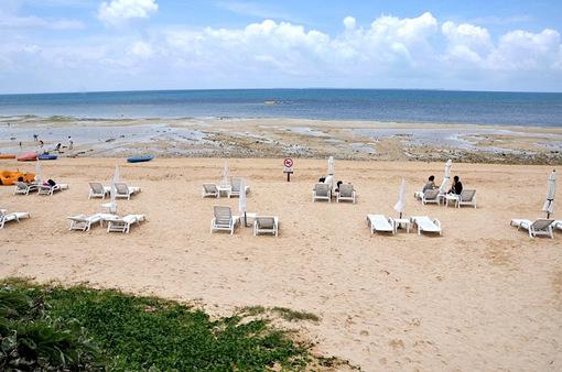 湘南から沖縄八重山旅行小浜島はいむるぶしビーチ
