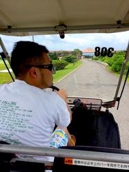 湘南から沖縄八重山旅行小浜島はいむるぶしのカート