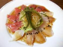 湘南から沖縄八重山旅行小浜島「さとうきび」の島魚のカルパッチョ