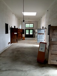 新潟県佐渡島相川の京町の旧相川拘置支所