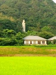新潟県佐渡島の小木の幸福地蔵