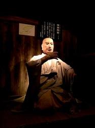 新潟県佐渡島の歴史伝説館の日蓮人形