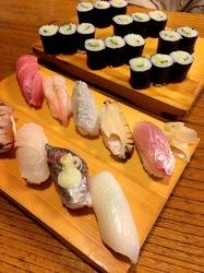 新潟県佐渡島の海鮮料理は両津港の寿司いしはら