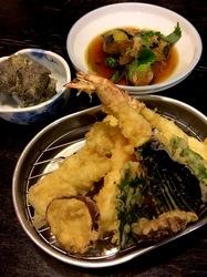 新潟県佐渡島の海鮮料理は両津天國の天ぷら