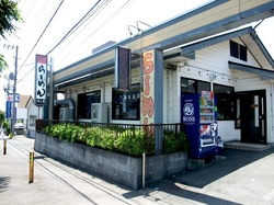 石川のクリーミー豚骨ラーメン「だし屋」の外観