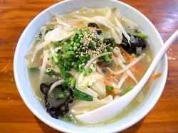 藤沢市辻堂鶏白湯ラーメンまる玉のベジまるタンメン