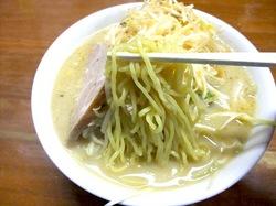藤沢市長後の札幌ラーメン零一壱の西山製麺太麺