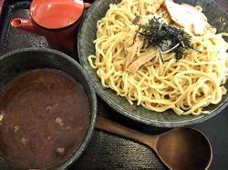 藤沢市湘南台の魚介系ラーメン田ぶしの本家田ぶしつけ麺