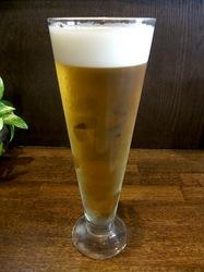 鎌倉市江ノ電長谷駅のラーメン五鉄の生ビール