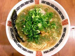 藤沢市湘南台の京都ラーメン幸樹の魚介系特性ラーメン