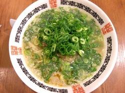 藤沢市湘南台の京都ラーメン幸樹の背脂醤油ラーメン