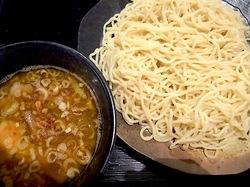 藤沢市長後のラーメン&つけ麺赤とんぼの煮干しつけ麺大盛り
