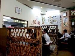 ラーメン&中華満族麺菜家@藤沢駅南口の店内