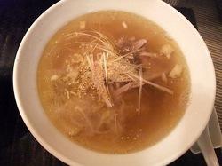 大船富士見町の和風ラーメンとりそばささのとりそば半麺+とりチャーシューごはん