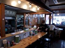 つけ麺&味噌ラーメンの大正麺業@寒川の店内