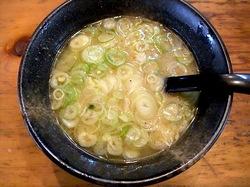 つけ麺&味噌ラーメンの大正麺業@寒川のつけ麺スープ割り