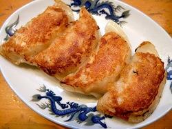 つけ麺&味噌ラーメンの大正麺業@寒川の餃子