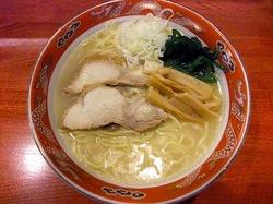 とろそば屋@藤沢本町の鶏そば塩