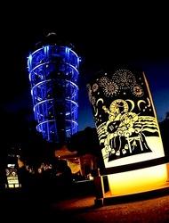 江の島灯籠2013島内やシーキャンドルライトアップ
